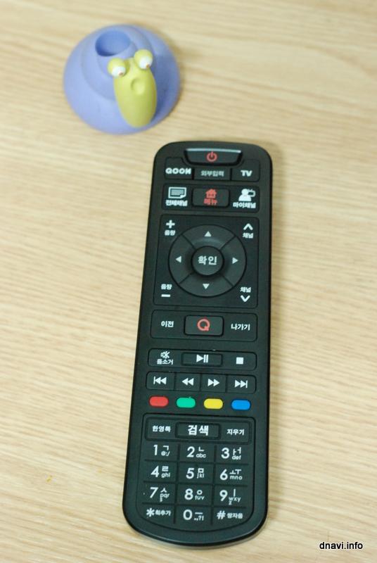 쿡TV 리모콘 IPTV-RC3.1